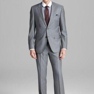 HUGO BOSS Charcoal Gray The Jam 76 Sharp1 Suit 40S